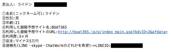 boat365の投稿